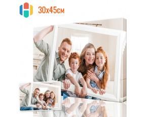 Печать фото на холсте 30 х 45 см
