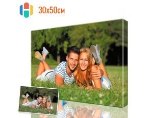 Печать фото на холсте 30 х 50 см