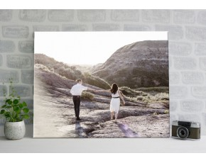 Печать фото на холсте